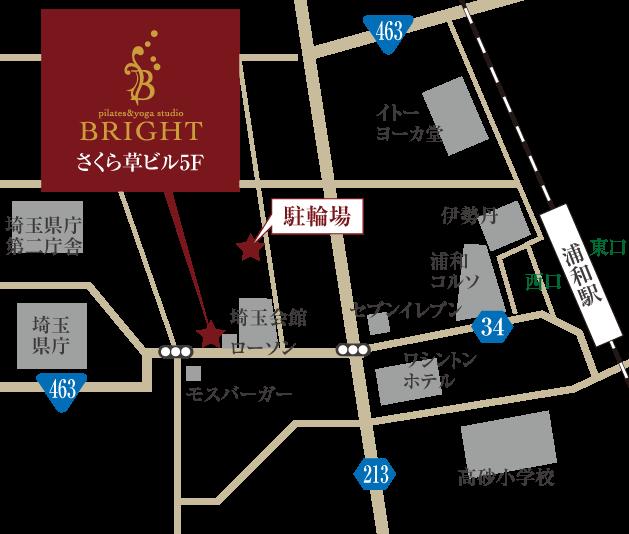埼玉県さいたま市浦和区高砂3-7-4 BEIS浦和県庁前ビル3F